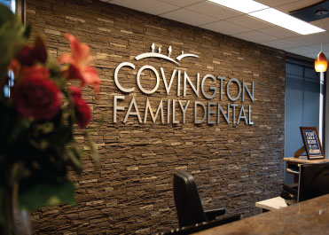 Reception at Covington Family Dental
